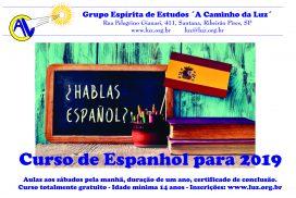 Curso de Espanhol 2019