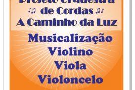 Inscrição para Projeto Orquestra de Cordas